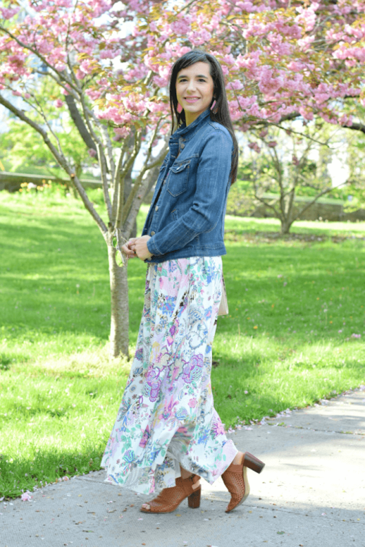 Floral Maxi Dress for Work and Play | More to Mrs. E