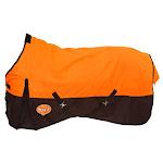 Waterproof Poly Turnout Blanket Med/Heavy 72 Inch, Orange