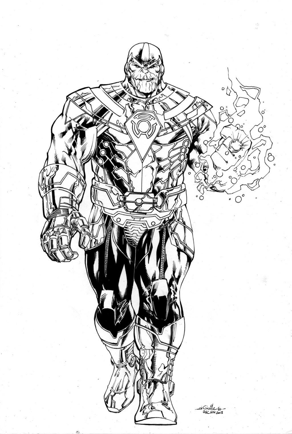 Desenho de Poderes de Thanos para colorir  Tudodesenhos