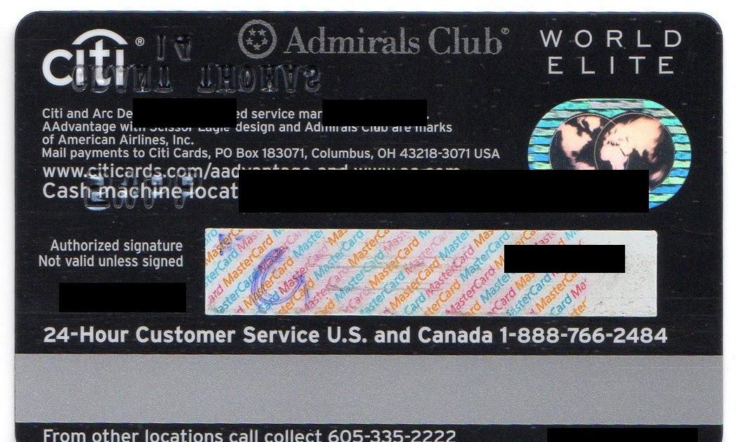 Card Citidirect Cardbk Co