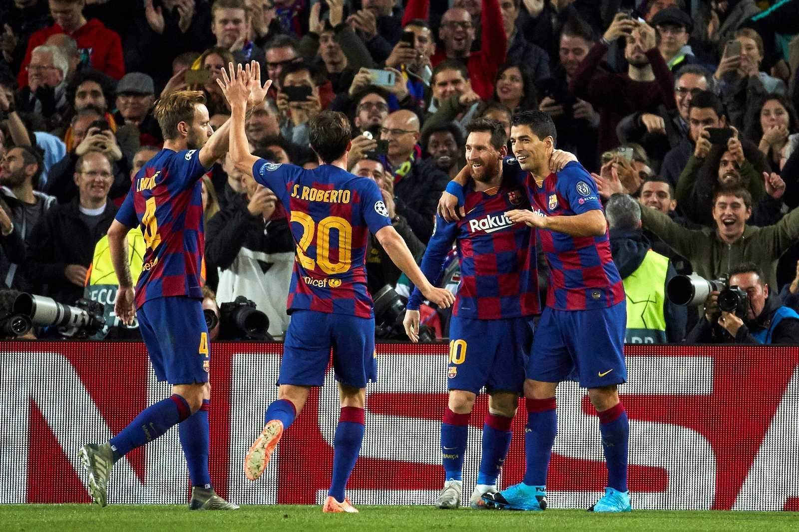 El Barça como primero y el Madrid como segundos clasificados para la siguiente fase. Valencia y Atlético se lo juegan todo en la última jornada.