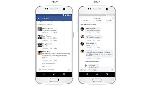 Facebook redesign nixes the blue profile header and adds circular pictures