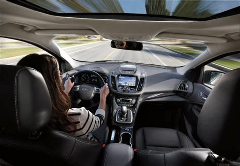 ford escape interior  news wheel
