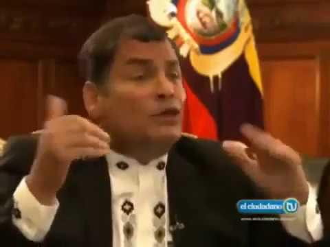 Video de la semana: Rafael Correa y el poder de poderes