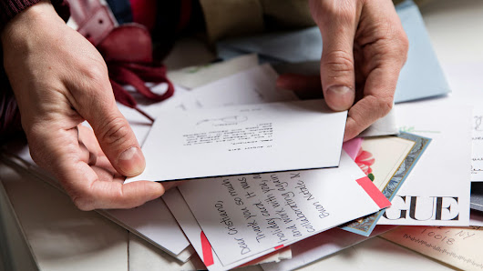 The Found Art of Thank-You Notes