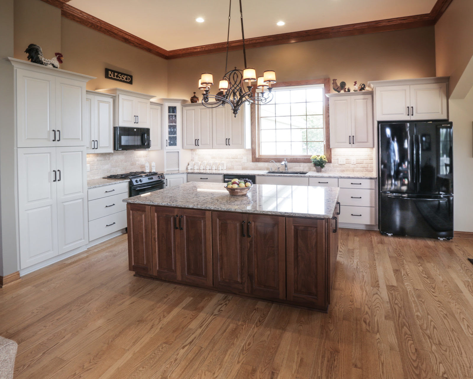 How do I update a house that is full of golden oak ...