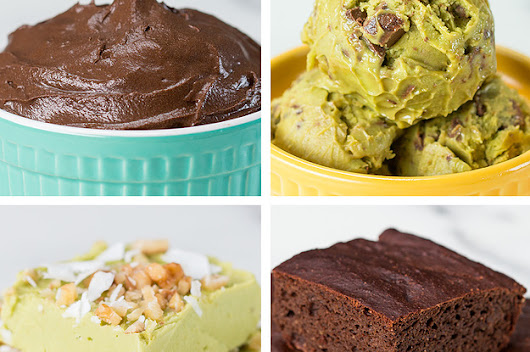 You Won't Believe How Good These Avocado Desserts Are