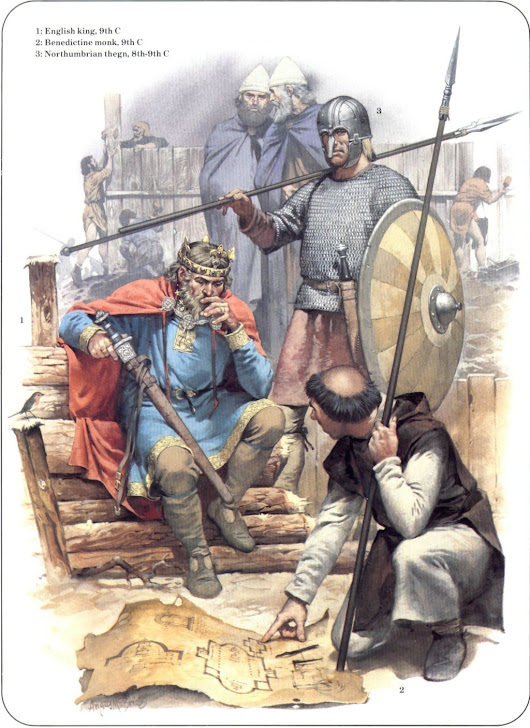 Anglo-Saxon England and Welsh Armed Forces Against the Vikings