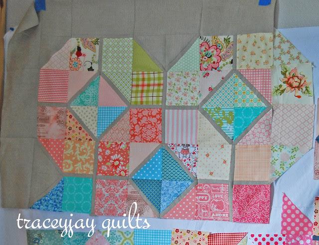 Scarlet's bedroom quilt