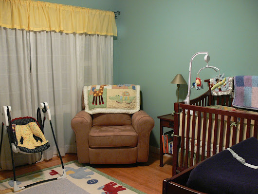 10 Easy Ways to Decorate Your Nursery For Less - Saving Sanely