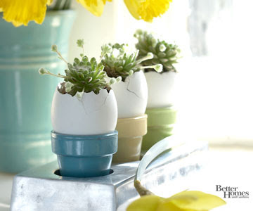 Three Easter Eggs for Centerpiece Idea