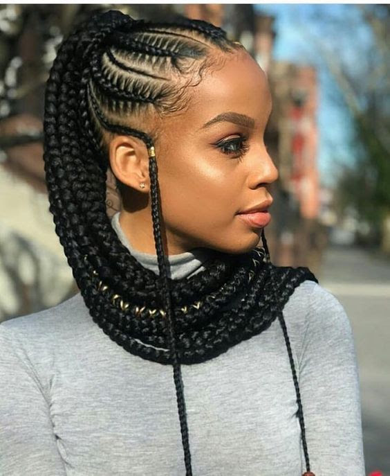 2019 Braided Hairstyles for Black Women - The Style News ...