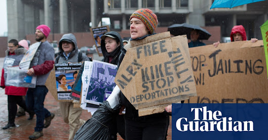 Immigration activists file lawsuit saying they were targeted by US government | US news | The Guardian