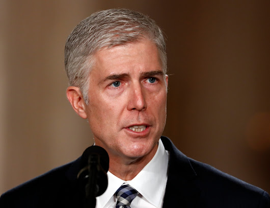Opinion | In Gorsuch, Trump gave Democrats a gift. They should take it.