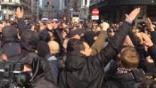 Brussels attack memorial Nazi salute protest field_00000000.jpg