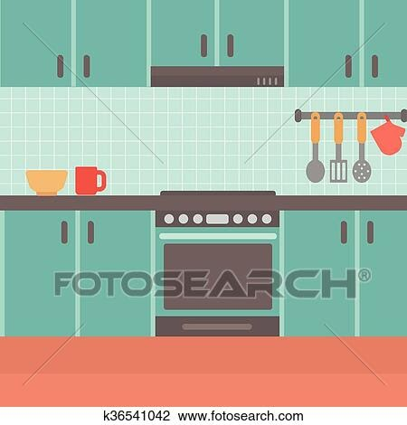 Trends For Kitchen Clipart Background wallpaper