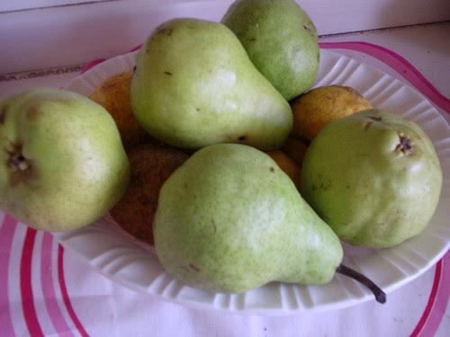 Any pears?