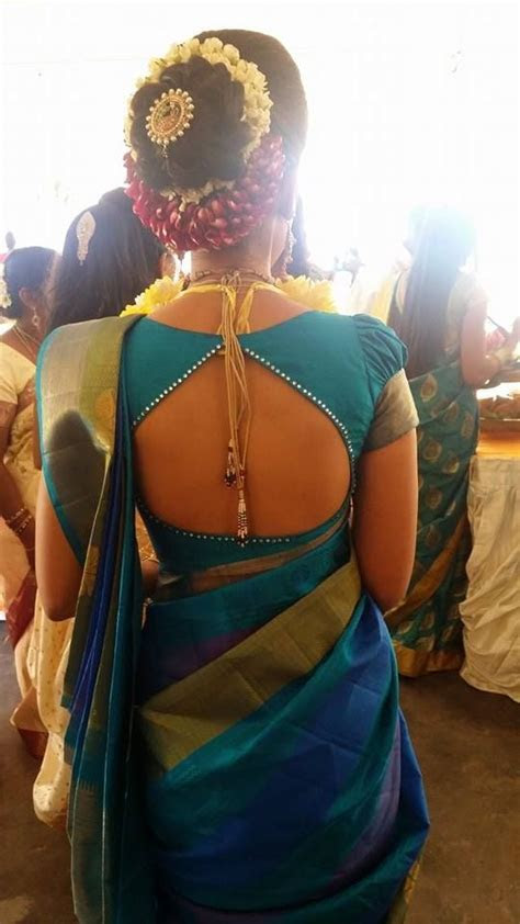 17 Best ideas about Silk Saree Blouse Designs on Pinterest
