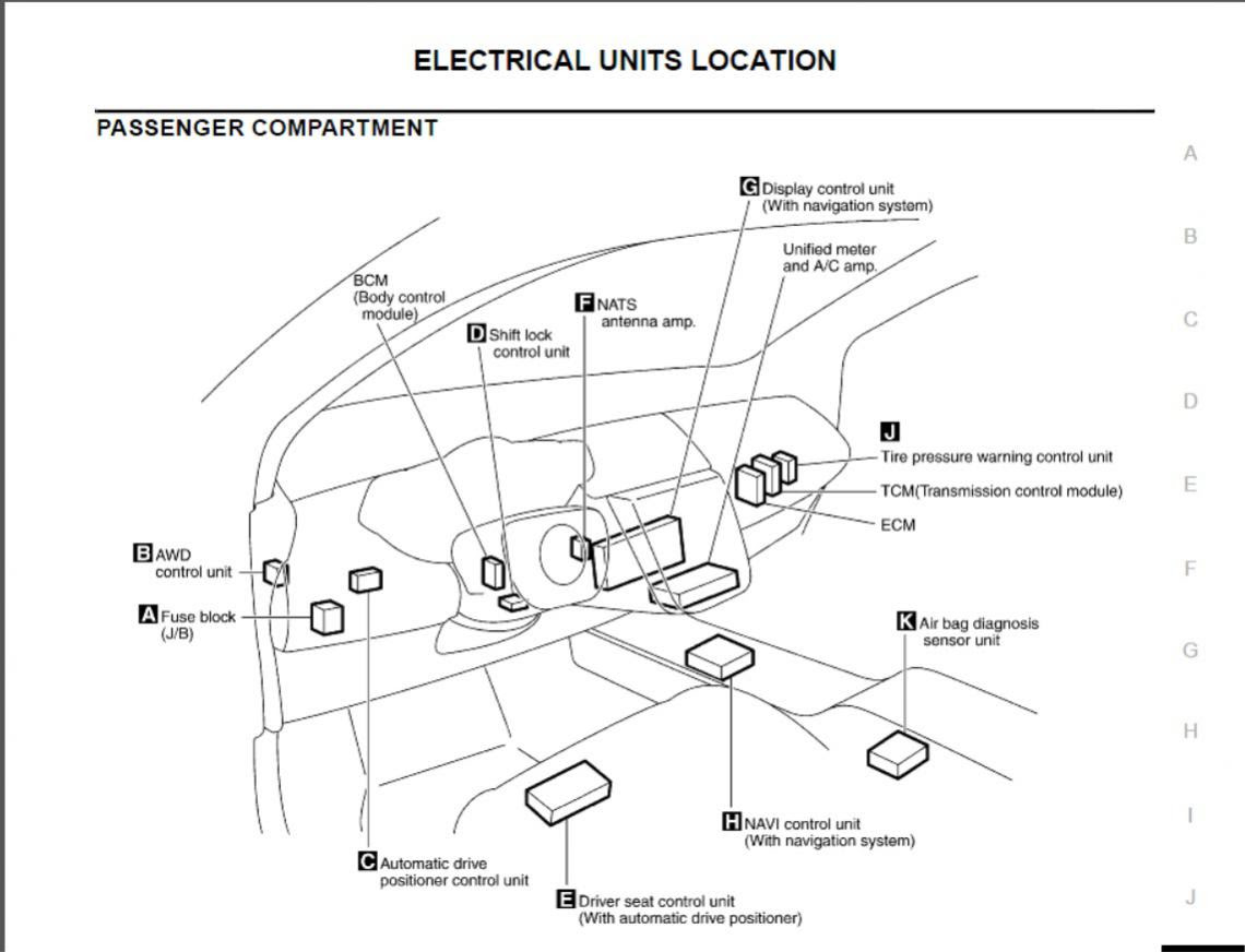 2004 Nissan Murano Alternator Wiring Diagram