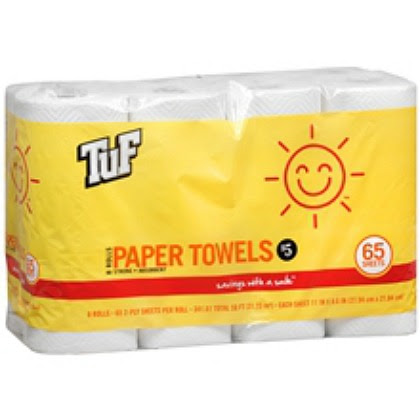 Tuf Sunny Smile paper towels
