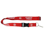 Atlanta Hawks Lanyard Red