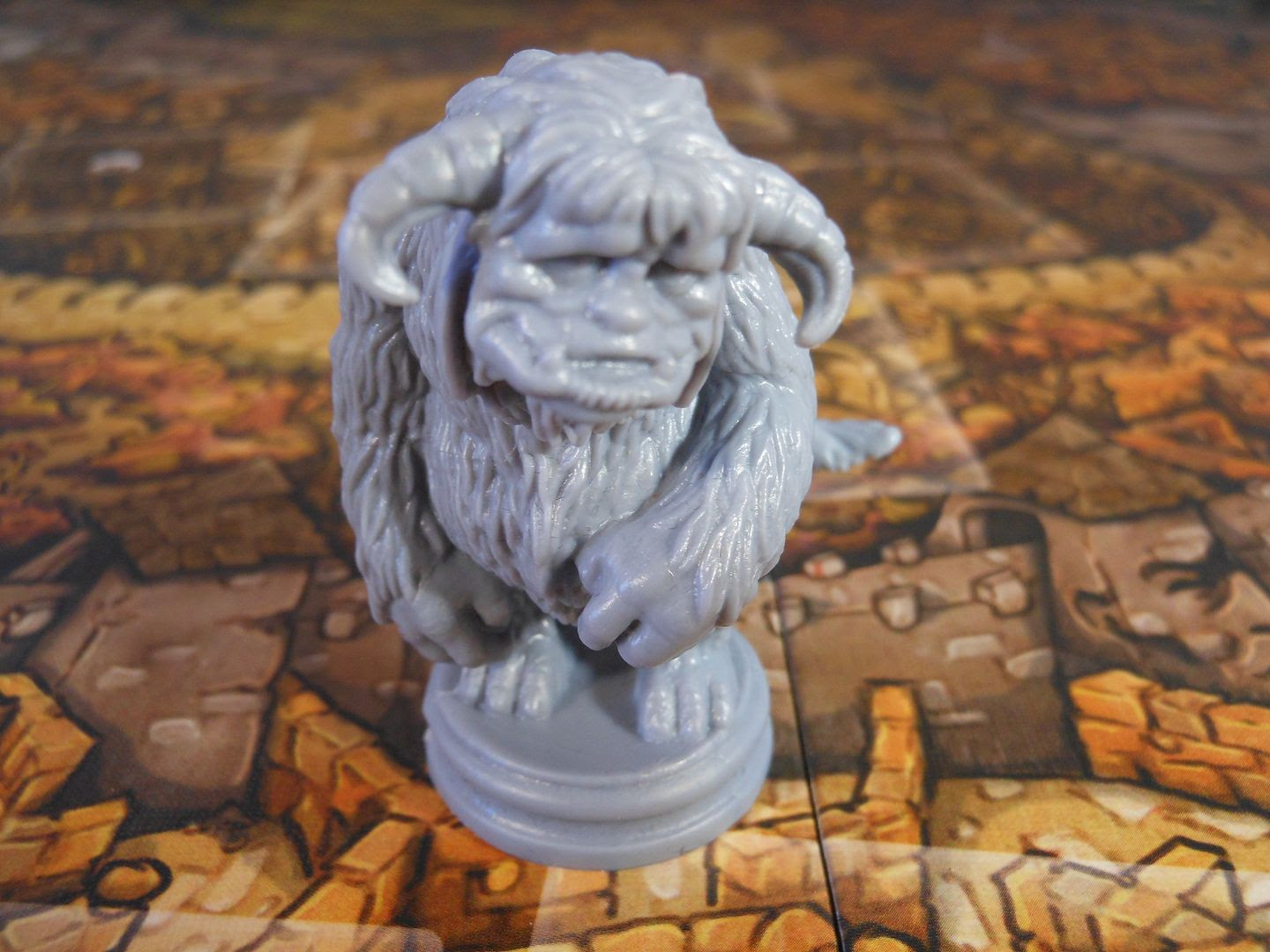 Ludo worries about smelling bad in Jim Henson's Labyrinth: The Board Game.