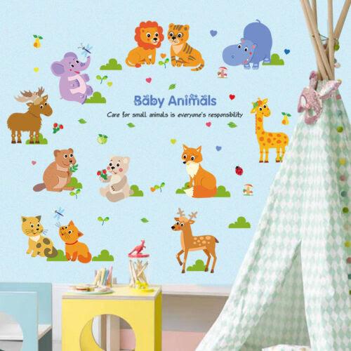 Wandtattoos Wandbilder Wandtattoo Kinderzimmer Junge Madchen Lowe Katze Elch Tiere Baby Bambi Elefant Mobel Wohnen Raizlatina Com Br