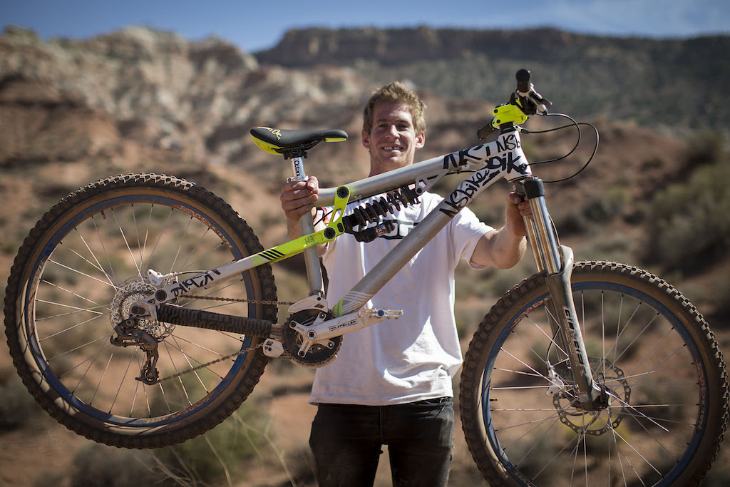 Sam Pilgrim at Redbull Rampage 2012