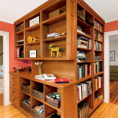 Getting Organized | From Unused Space to a Home Office Full of ...