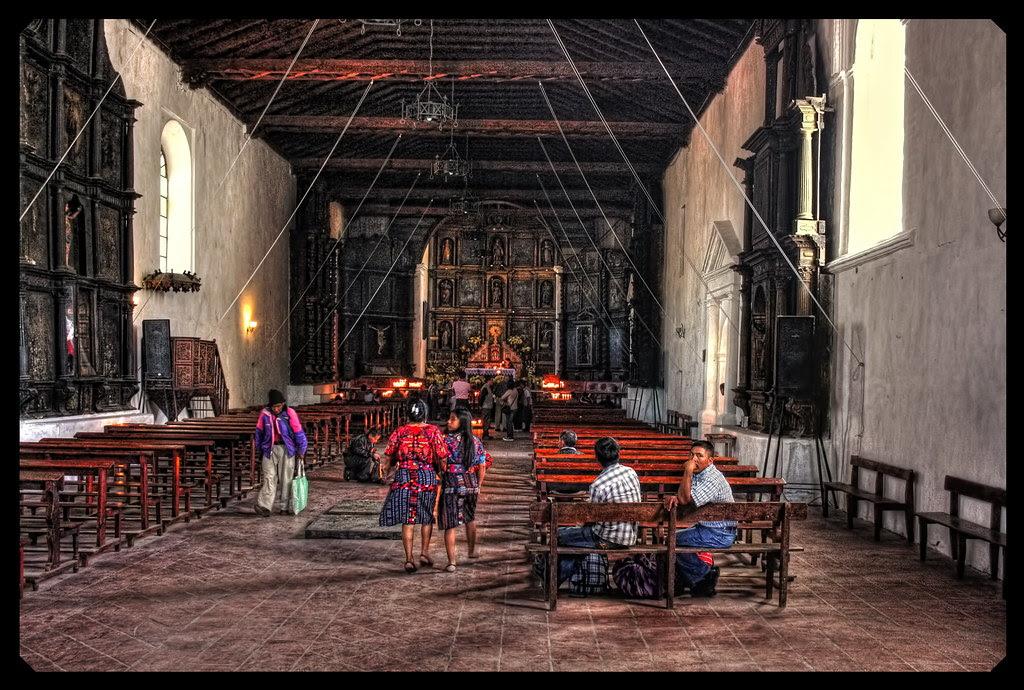 Chichicastenango Gca Iglesia De Santo Tomas The