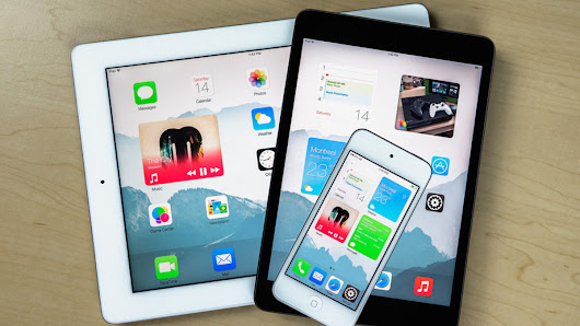 This striking iOS 8 concept reinvents the homescreen
