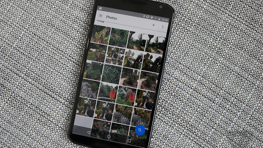 Google Photos on Android gets a redesigned 'albums' tab
