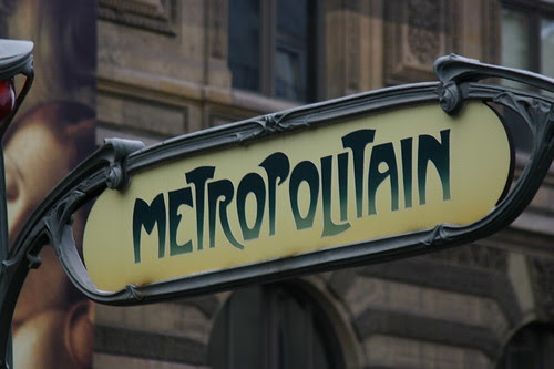 Metro sign Paris by www.FranceHouseHunt.com