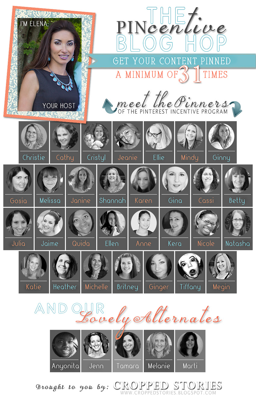 The Pincentive Blog Hop Pinterest Incentive Program Team Members