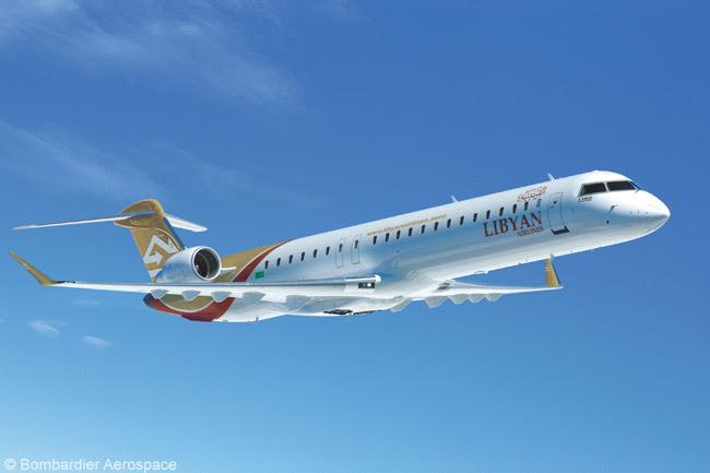 Libyan Airlines Bombardier CRJ900