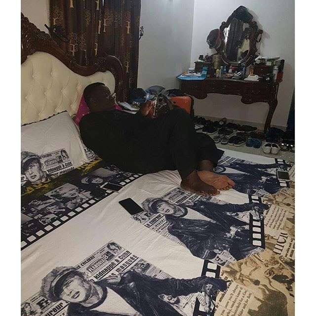 Mr Ibu Flaunts His Designer Bedroom (photo)