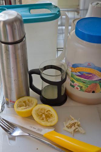 Flu Remedy - Honey Lemon Ginger Tea 3