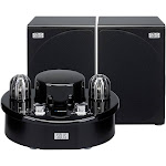SOLIS Bluetooth Stereo Vacuum Tube Audio System - Black (SO-7500)