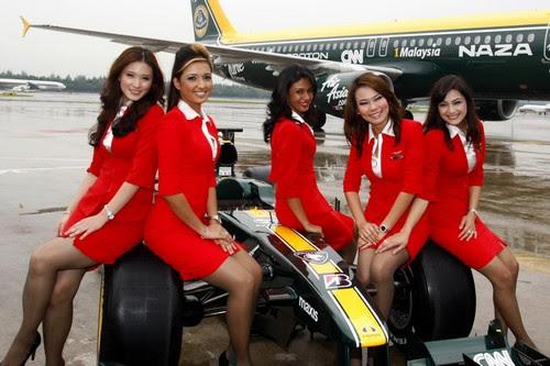 Air Asia sexy Air Hostess