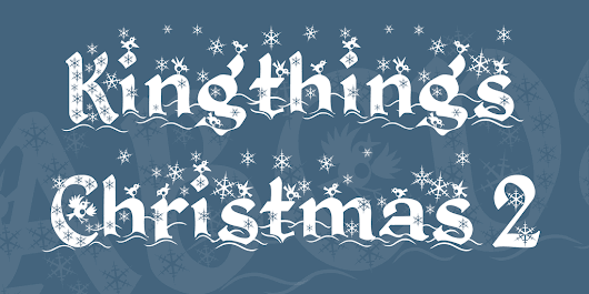 Best free Christmas fonts | Collection of Fonts for Holiday Greetings
