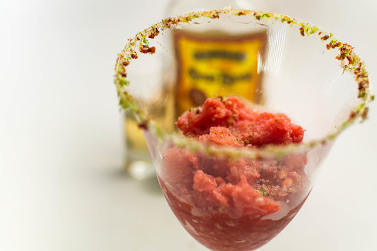 Sangrita Granita with Sun-dried Tomato Sugar for a Creative Cooking Crew Challenge - FOODalogue