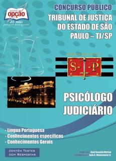 TJ-SP-PSICÓLOGO JUDICIÁRIO