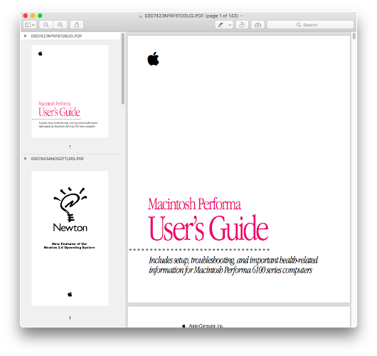 How to merge PDFs in Apple's Preview–and get them to stay merged
