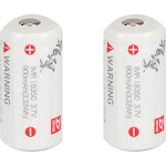 Zhiyun - Rechargeable Lithium-Ion Battery for Zhiyun Rider-M and Evolution (2-Pack)