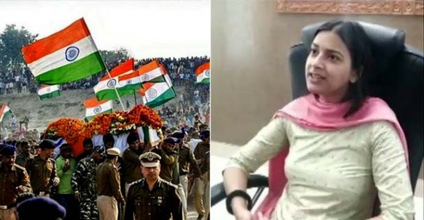 Bihar DM from Sheikhpura district Inayat Khan adopts two daughters of the Martyrs