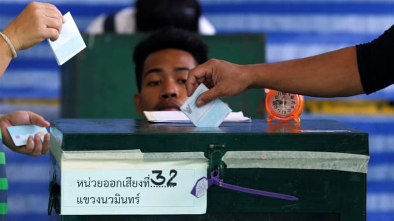 In the draft constitution, a fully-appointed senate could block the work of elected politicians [Chaiwat Subprasom/Reuters]