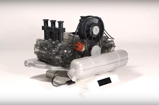 Build Your Own Powered Porsche Flat-Six Scale Model Engine - Motor Trend