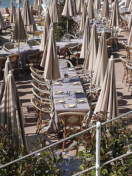 déjeuner en terrasse