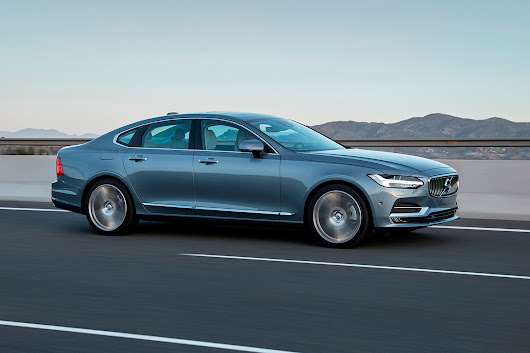 2017 Volvo S90 First Drive