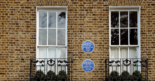 In London, Blue Plaques Mark the Noted and Notorious - The New York Times